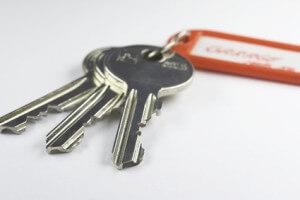 Schlüsselbund mit Anhänger